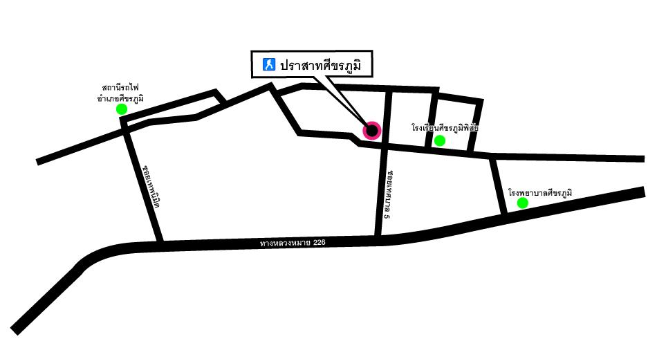 prasat-sikhoraphum-map