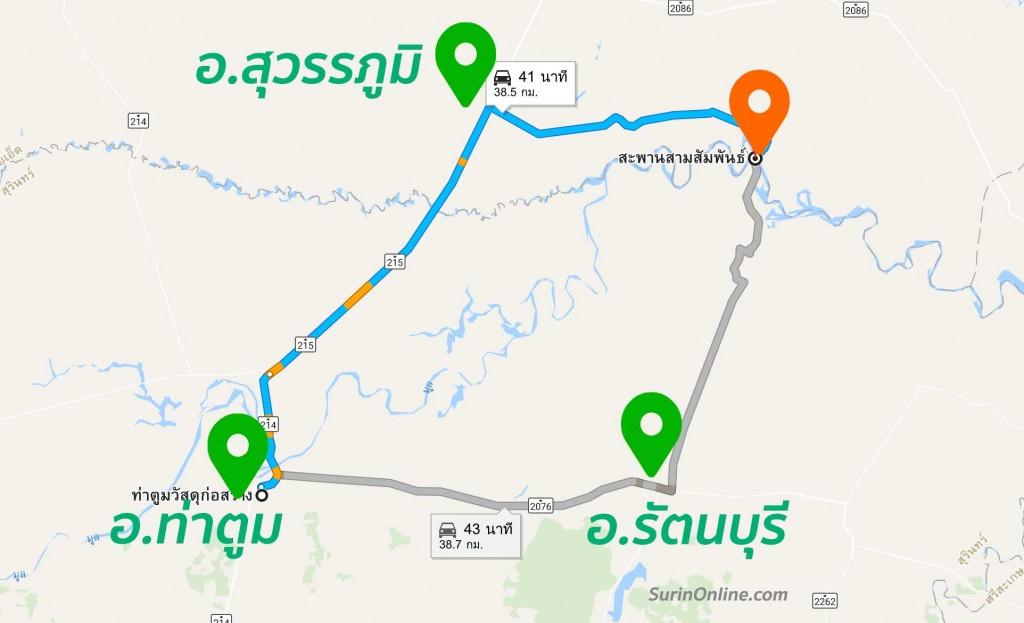แผนที่ท่าหาดยาว รัตนบุรี